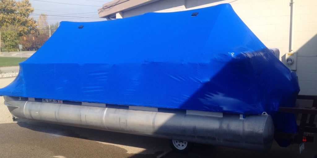 another pontoon wrapped
