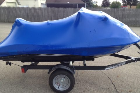 seadoo shrink wrapped